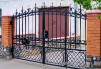 Кованые ворота 17